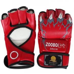 MMA half finger gloves / sarung tangan mma 01