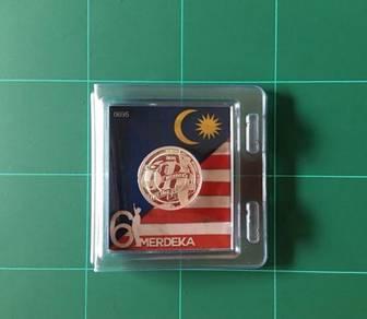 Syiling Perak 999 Merdeka ke-61
