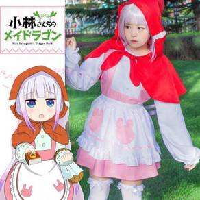 Miss Kobayashi's Dragon Maid Kanna Kamui Cosplay C