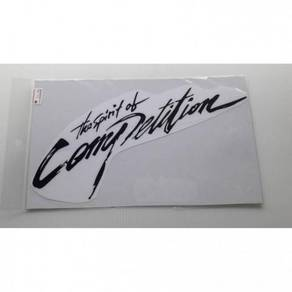 Sticker the spirit of competition st237
