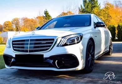 Mercedes w222 facelift 2019 amg s65 conversion