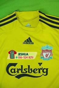 Adidas Liverpool yellow jersey jersi kuning gk ls