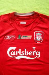 Authentic Reebok Liverpool 2005 Home jersey jersi