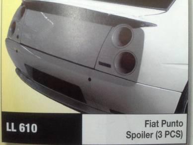 Fiat punto spoiler 3 pcs