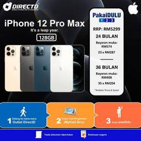 APPLE iPhone 12 PRO MAX 128GB (CCM tanpa DOKUMEN)