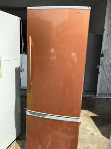 Panasonic Gold Pintu Fridge Refrigerator Freezer