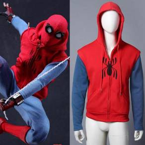 Spiderman homecoming cosplay jacket hoodie RBC0011