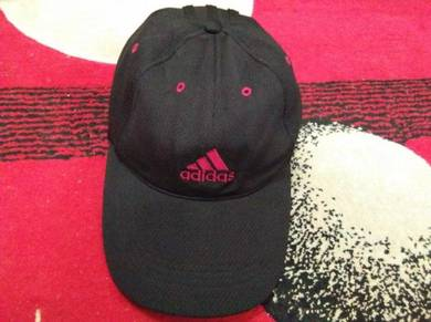Adidas cap red embroidered size 54-57cm