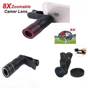 Camera Lens and Telescope