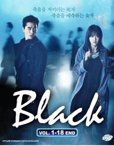DVD Korean Drama Black Vol.1-18 End