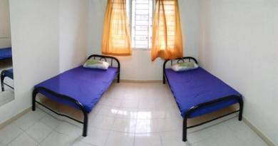 Bilik Sewa Melur Apartment, Sentul, Hadapan LRT Sentul Timur, KL