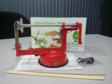 Mesin Kentang - Spiral Potato Slicer (Kod4)