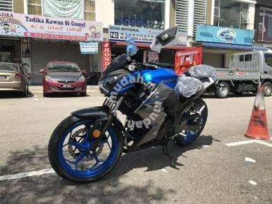 Kawasaki z250 z 250 Free Exhaust System