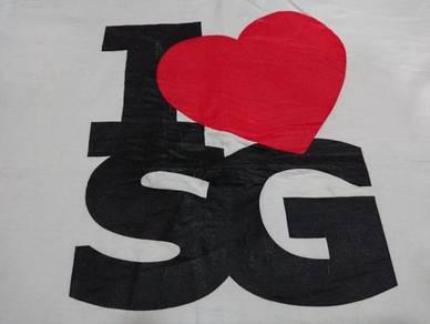 I love sg t shirt size m