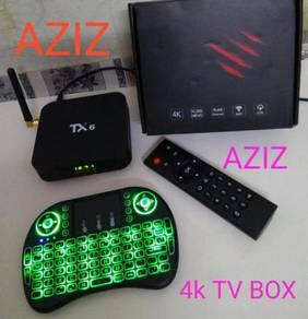 Air Mouse power plug Android tv box 4k