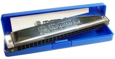 HOHNER Big Valley 24 holes of C tremolo harmonica