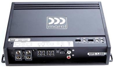 Morel & Gladen amplifier and speaker
