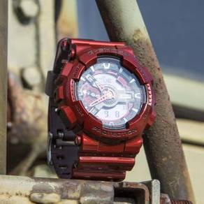 Watch - Casio G SHOCK LARGE GA110NM RED - ORIGINAL