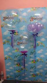 Belon Helium Gas, Bubble Balloon, Belon Cantik