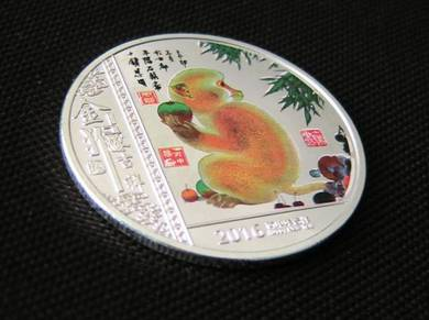 Zodiac Monkey Year Commemorative coins (M 02)