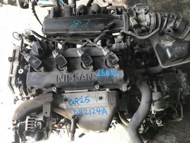 JDM Nissan X-Trail QR25 Engine Kosong NT30 2.5L