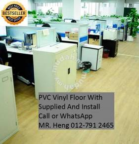 PVC Vinyl Floor In Excellent Install 34h4