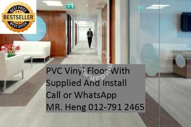 Quality PVC Vinyl Floor - With Install 24t343
