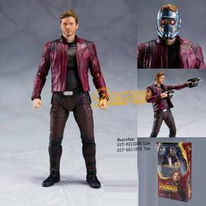 Marvel Avengers Infinity War SHF Star Lord Figures