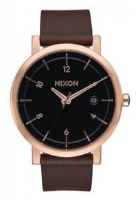 Nixon 'Rollo 38' BrownLeather Watch Model: A98410