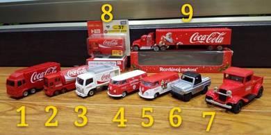 Tomica M2 Coca Cola Diecast Car Truck Toy Model