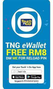 Free RM8 Touch & Go e Wallet reload pin