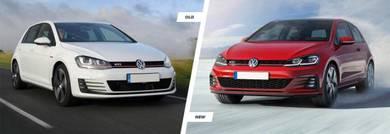 VW MK7.5 Gti full facelift Conversion bodykit