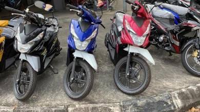 Honda beat Deposit 0 kaw kaw !!!!!