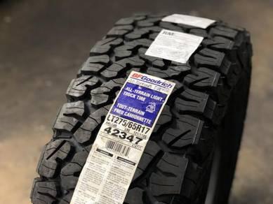New Tyres 275 65 17 BF Goodrich AT KO2 Ranger Revo