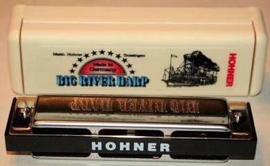 HOHNER Big River Harp 10 holes