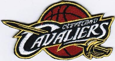 NBA Cleveland Cavaliers Basketball Badge Patch