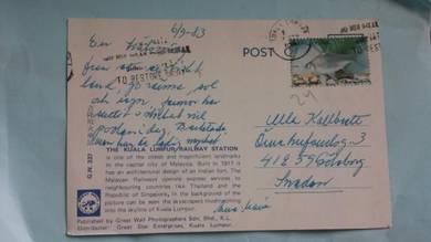Postcard KUALA LUMPUR 1983 PC 42