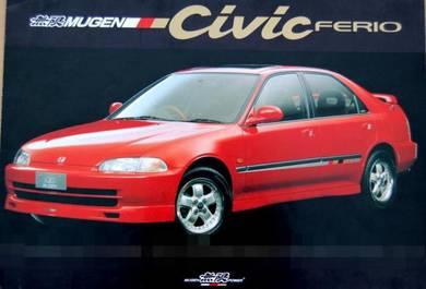 New Sidesirkit Mugen Honda Civic EG9 SR4