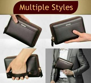 Man's Hand Carry Wallet (Brown,Black) - 06rs