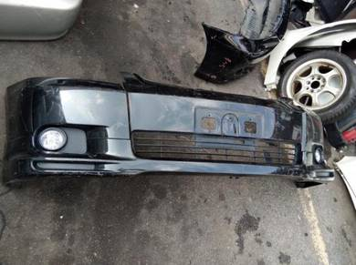 Toyota wish front bumper half cut condition