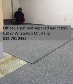 Modern Plain Design Carpet Roll With Install 4gb4