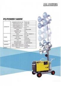 Spot Lighting Tower with 5KVA Diesel Generator Set