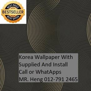 Classic wall paper with Expert Installation fh56