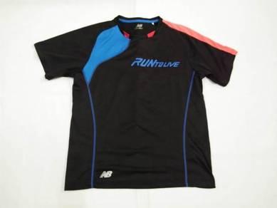 New Balance Black Running T-Shirt L (Kod AV3807)