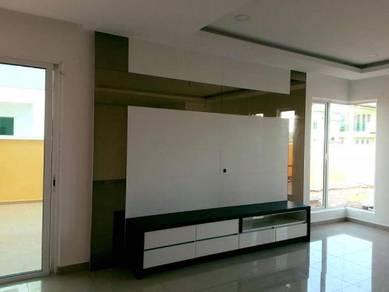 TV kitchen cabinet