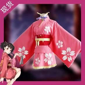 Kabaneri of the iron fortress mumei kimono yukata