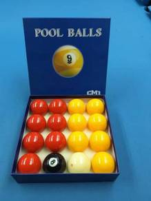 British Pool Table Balls