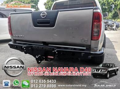 Nissan Navara D40 2005 15 4X4 Bumper Rear Bull Bar