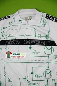 MXDC Electrical Circuits Cycling Jersey basikal