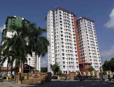 Ilham Apartment 786sf Taman Tun Dr Ismail Jaya BELOW MARKET PRICE